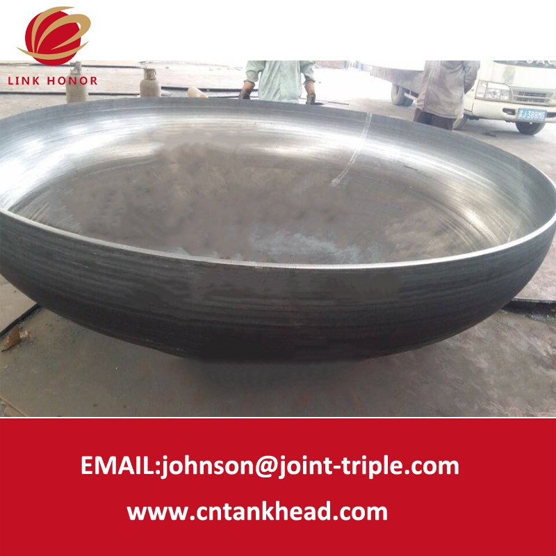 1-01-26 Large Specification and High Quality Carbon steel  Elliptical Head 8200*10